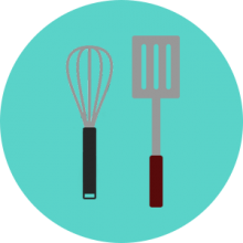 Outdoor cooking utensils